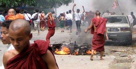 La ira a Birmània